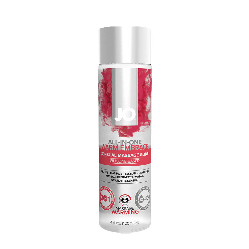 System JO All-in-One Sensual Massage Glide warm - 120 ml
