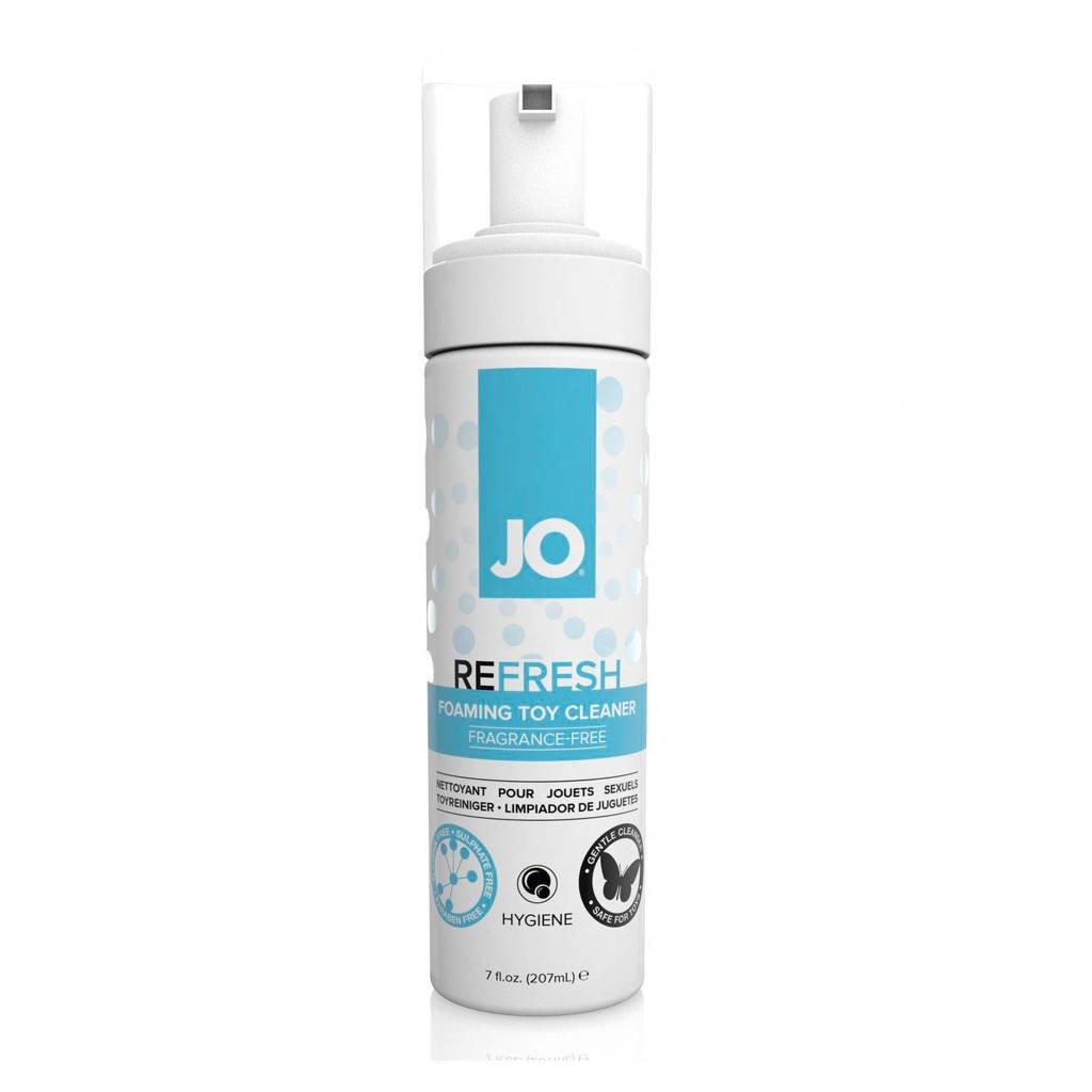 System JO Refresh Toy Cleaner schuim - 200 ml