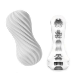 Flex Sleeve Silky masturbator - wit