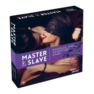 Master & Slave Bondage Spel Paars - erotisch spel