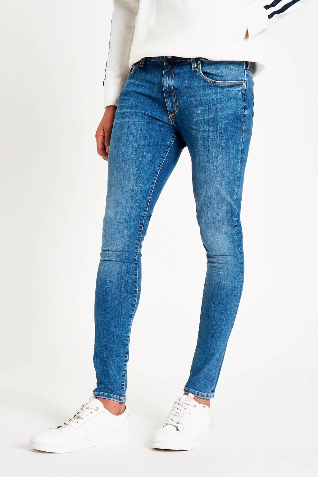River Island slim fit jeans, Blauw