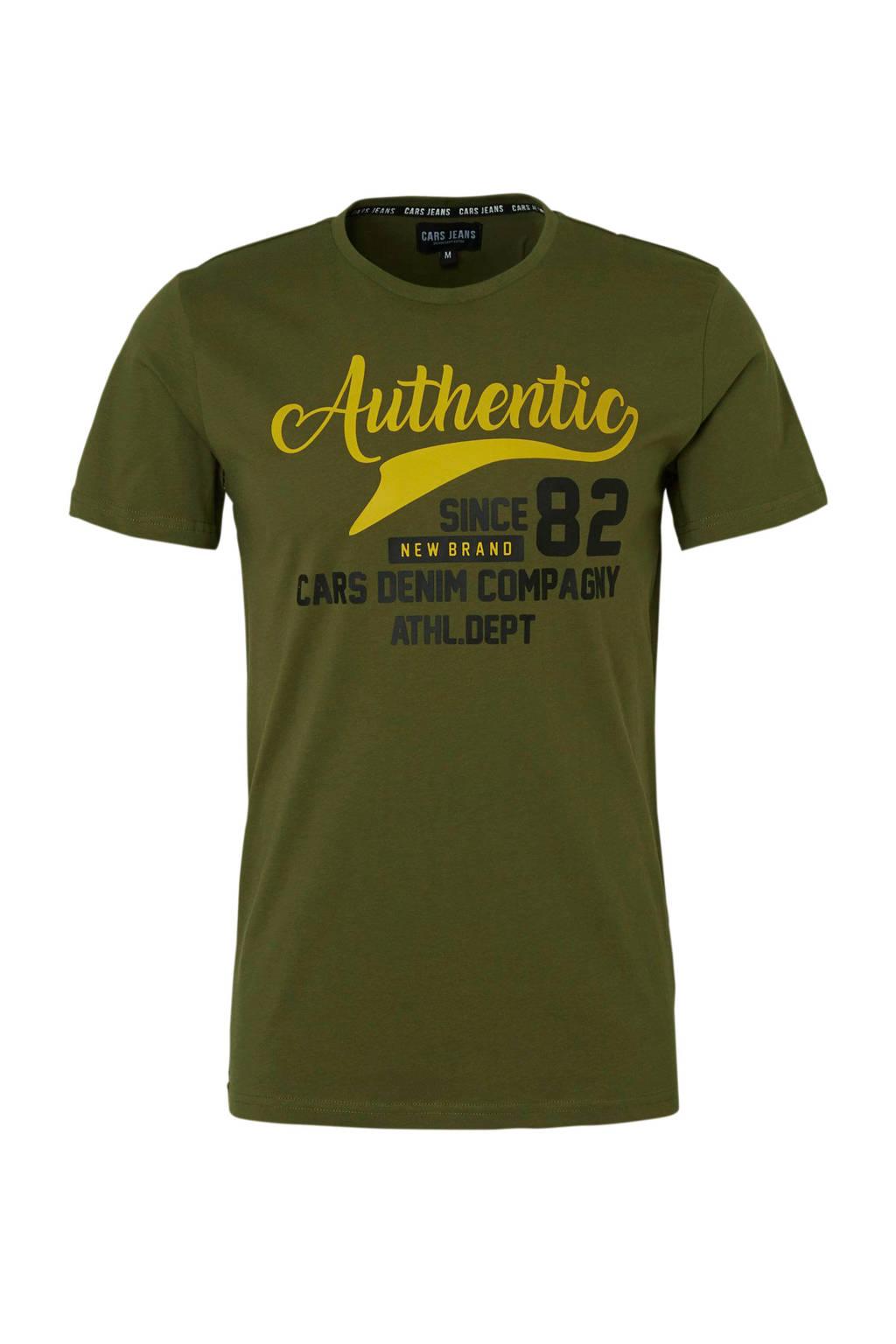 Cars T-shirt, Groen