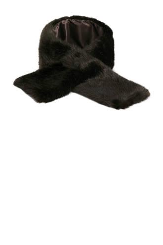 imitatiebont sjaal bruin
