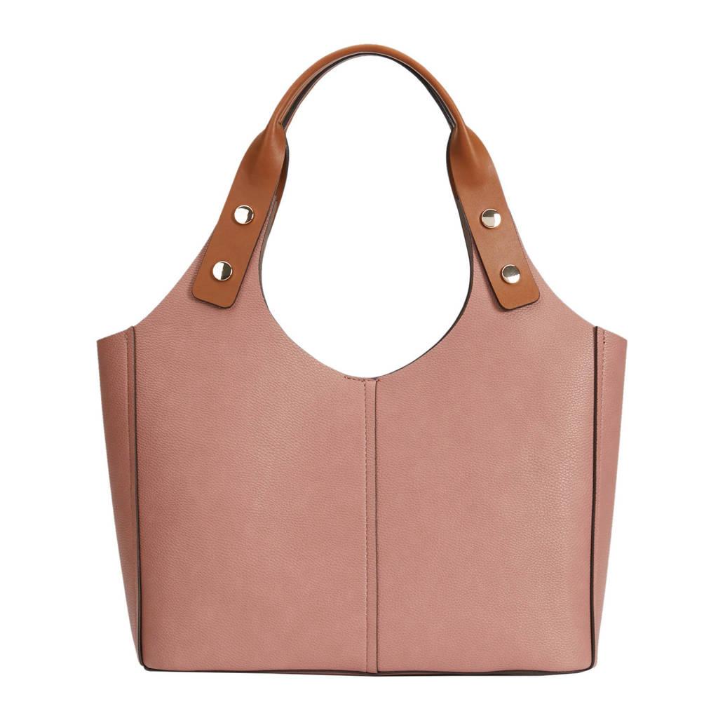 Parfois   handtas roze, Lichtroze/camel