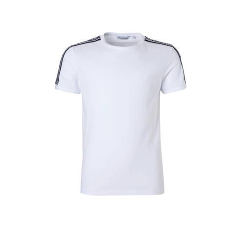 Antony Morato T-shirt met tape wit kopen
