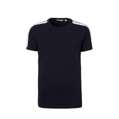 Antony Morato T-shirt met tape blauw kopen