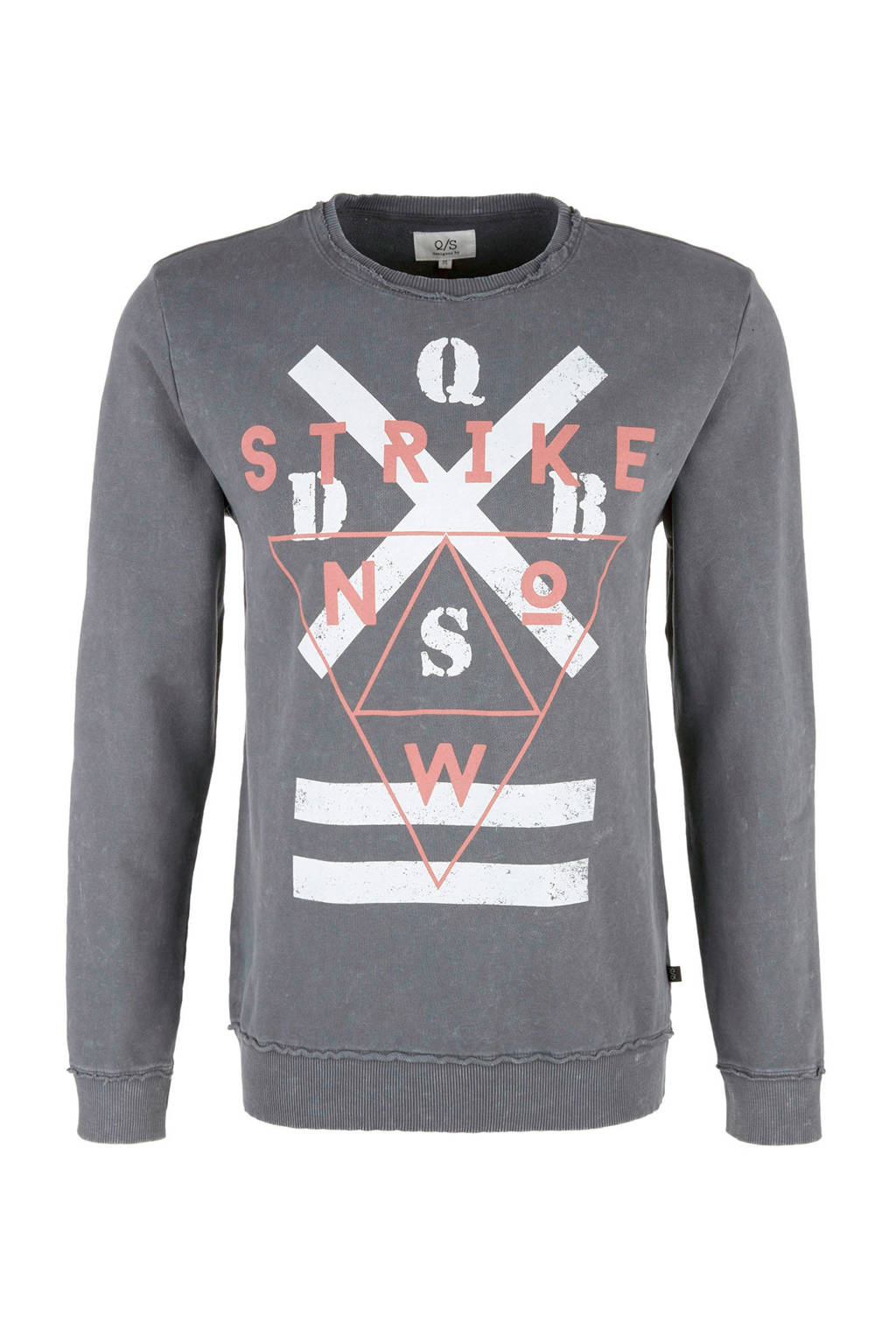 Q/S designed by sweater, Grijs