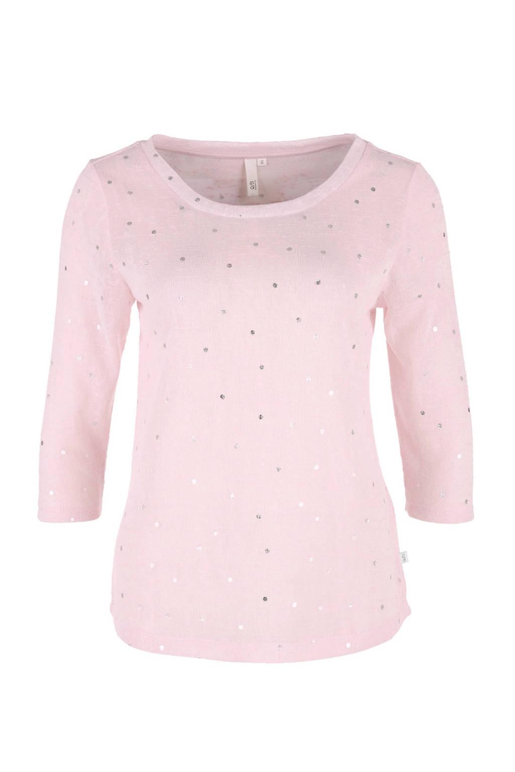 Q/S designed by T-shirt roze, Lichtroze