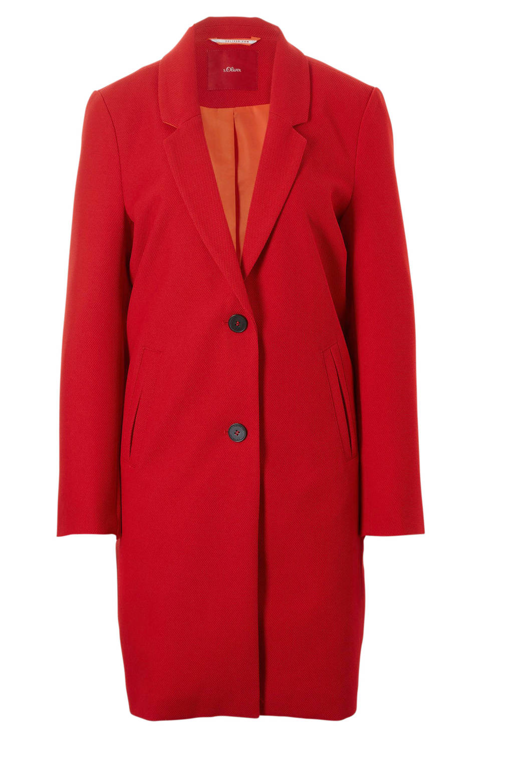 s.Oliver coat rood, Rood