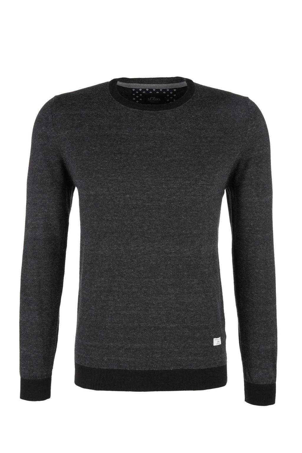 s.Oliver sweater, Antraciet