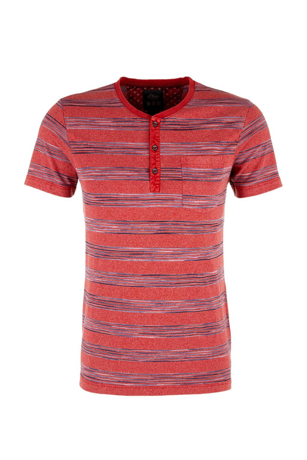 s.Oliver T-shirt, Rood