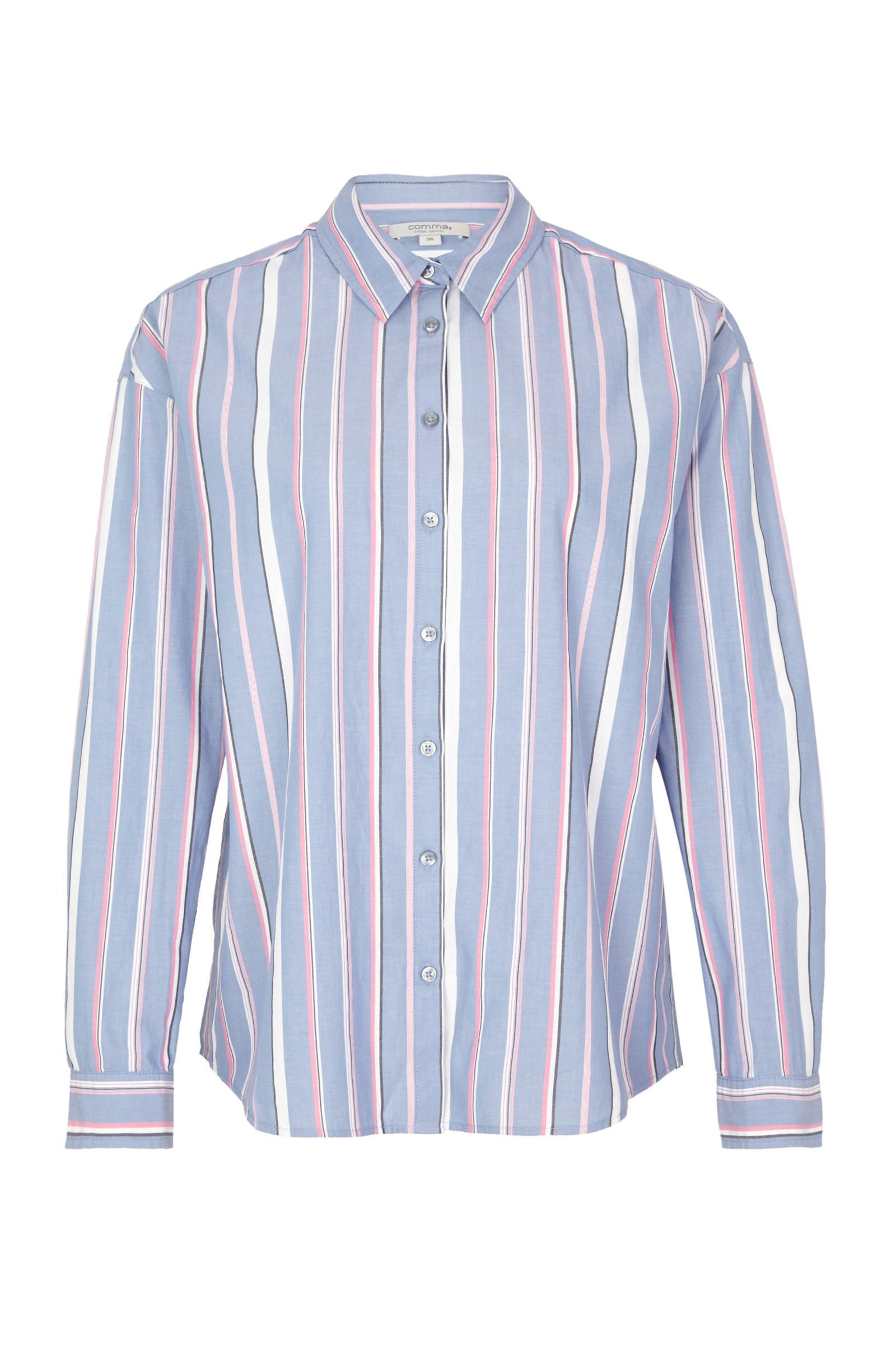 lange katoenen blouse