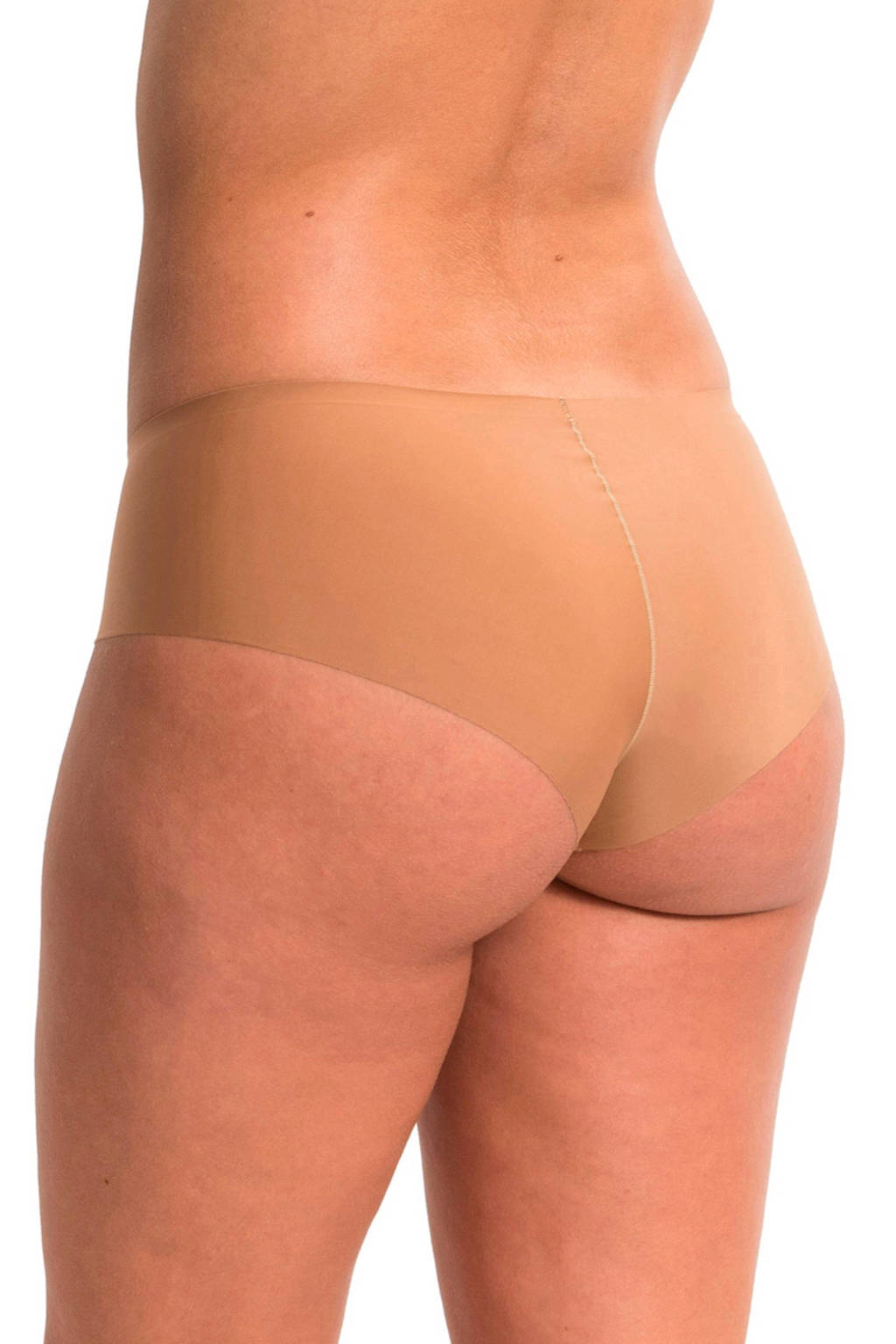 MAGIC Bodyfashion naadloze hipster Dream Invisibles (set van 2) donkerbeige, Donkerbeige