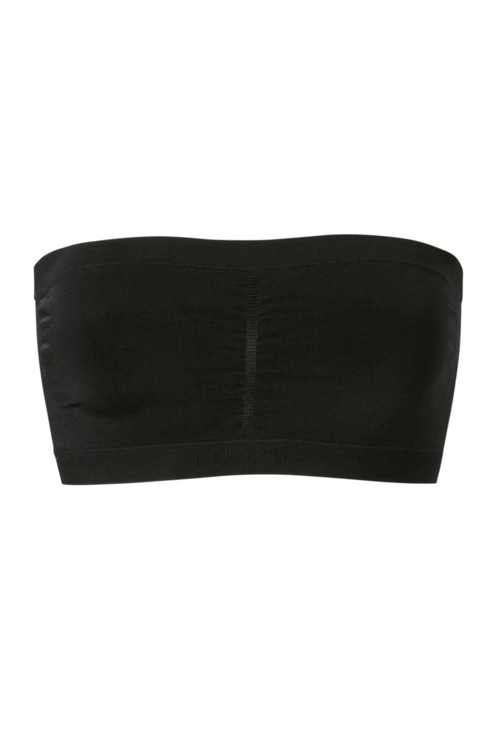 MAGIC Bodyfashion bandeau bh zwart, Zwart