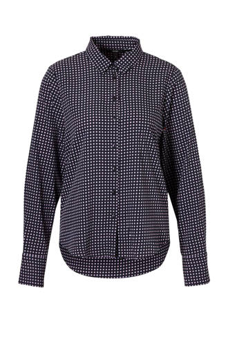 geblokte blouse