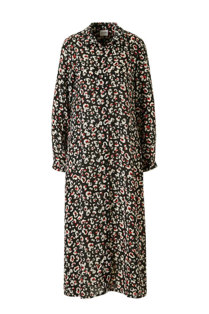 VERO MODA VERO AWARE MODA blousejurk met by panterprint HqApgn6