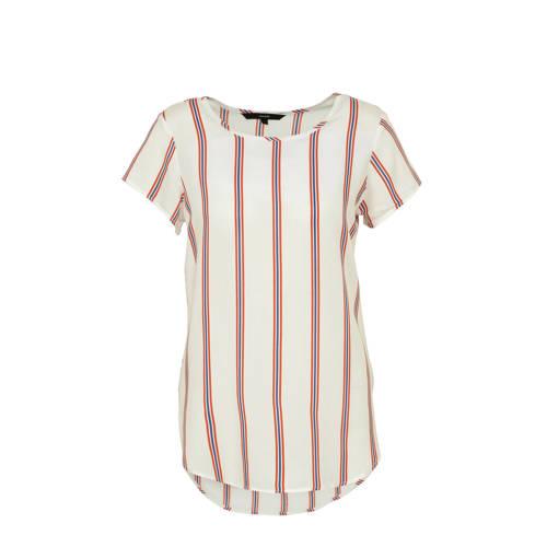 VERO MODA gestreepte T-shirt wit kopen