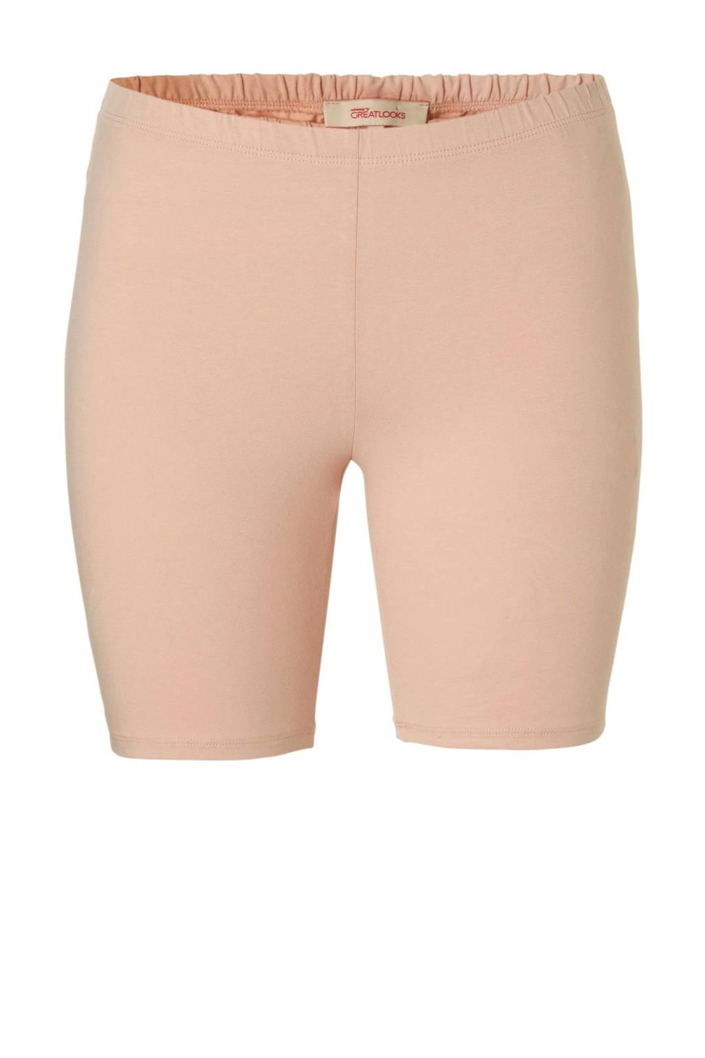 GREAT LOOKS korte legging roze, Roze