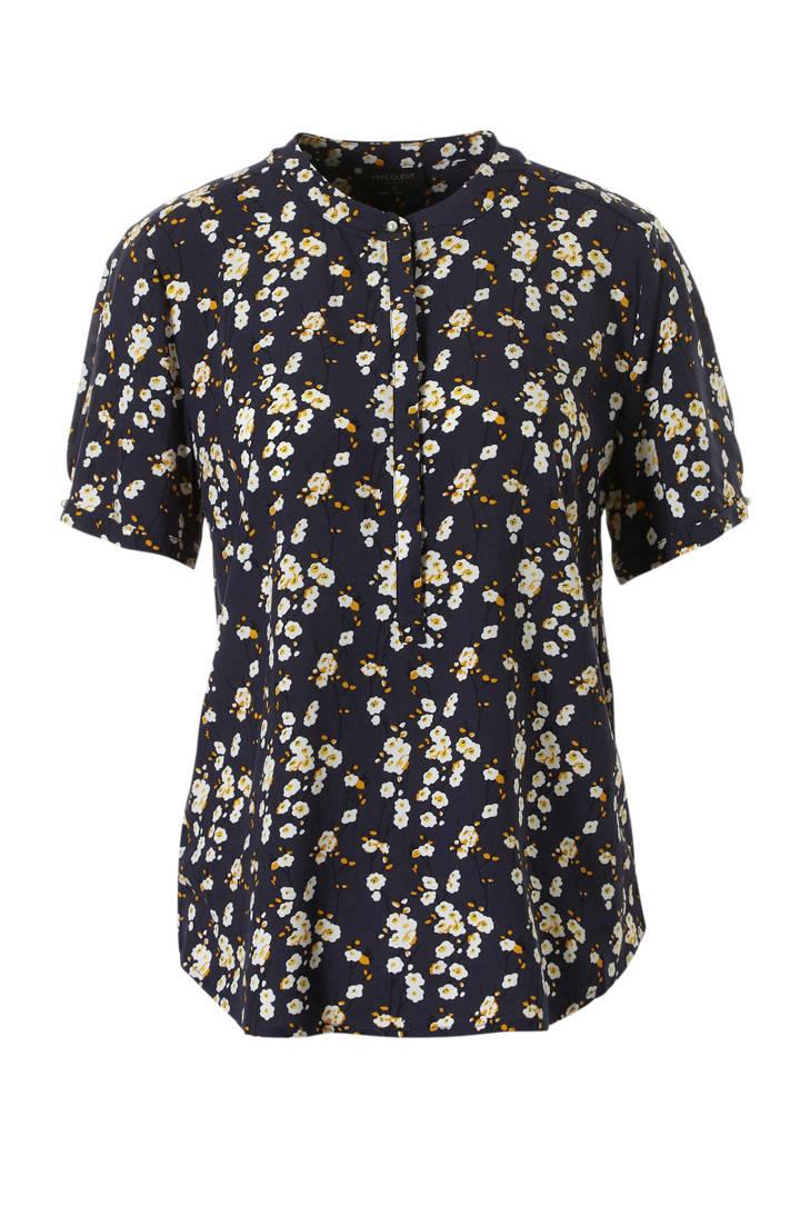 blouse gebloemde FREEQUENT FREEQUENT gebloemde wqXHzBnR