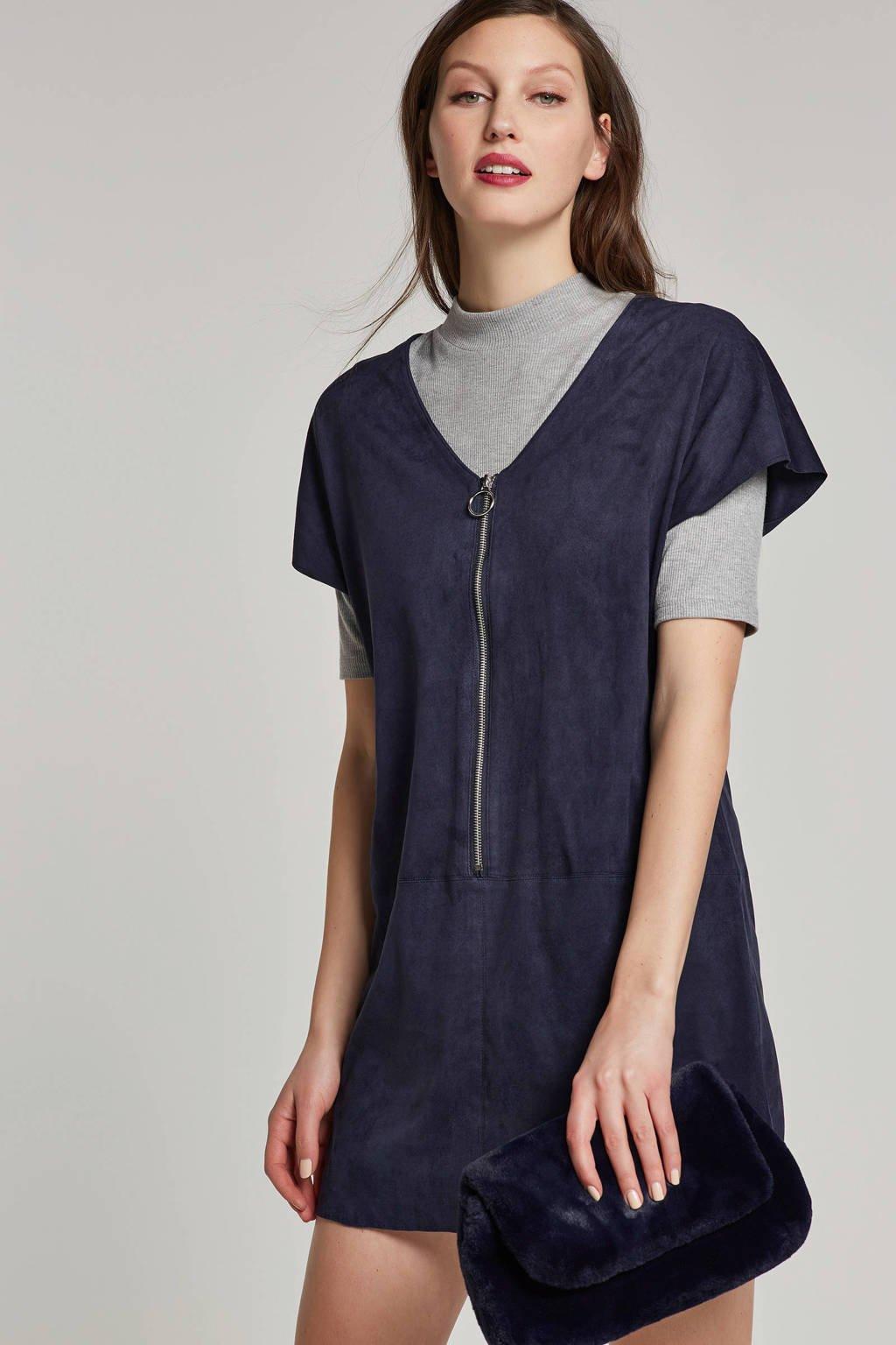 FREEQUENT jurk blauw, Blauw