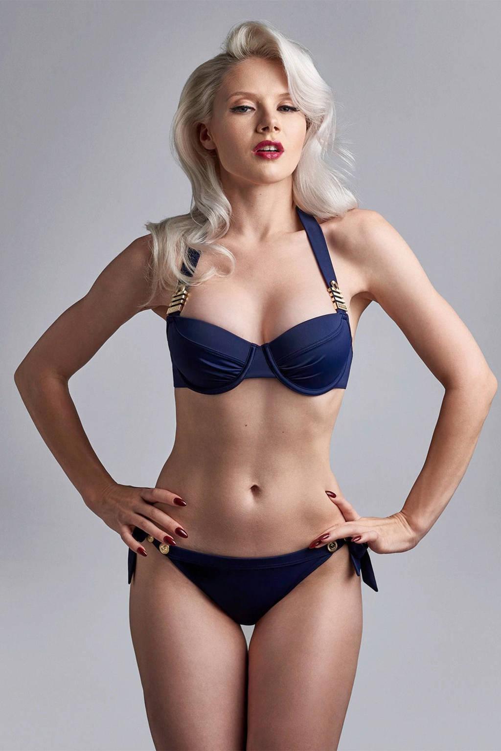 marlies dekkers Swim strik bikinibroekje Royal Navy marine, Marine