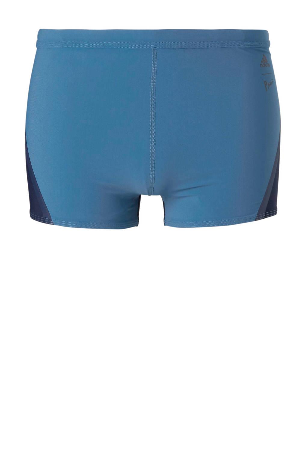 adidas zwemboxer blauw, Blauw/marine