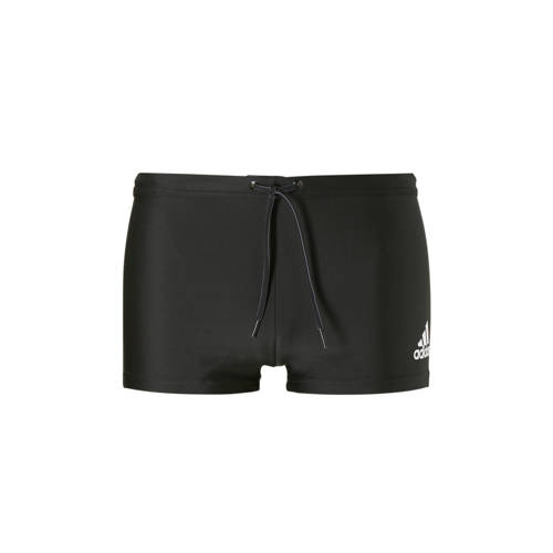 adidas Performance zwemboxer met logo zwart