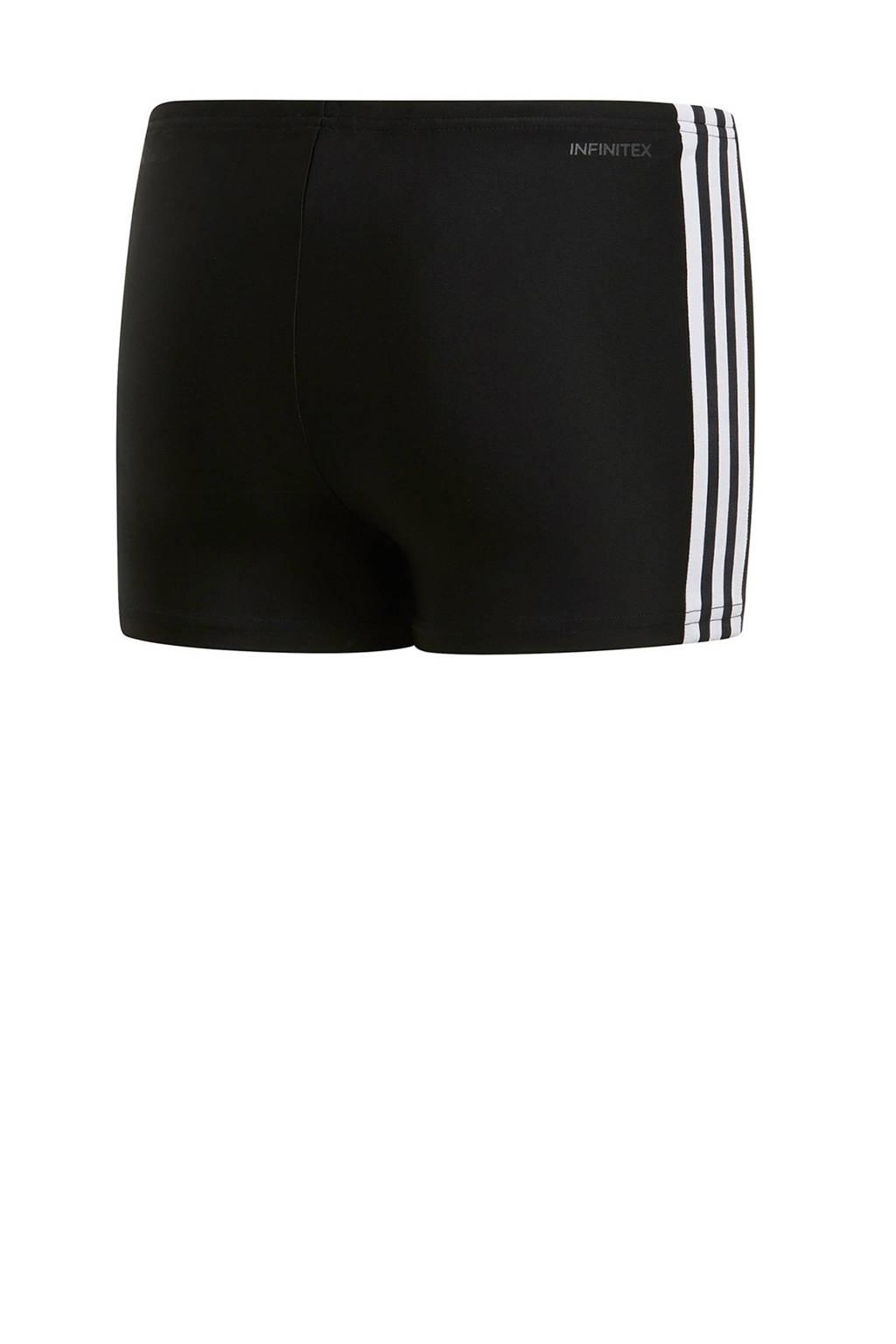 adidas Performance infinitex zwemboxer 3-stripes zwart, Zwart