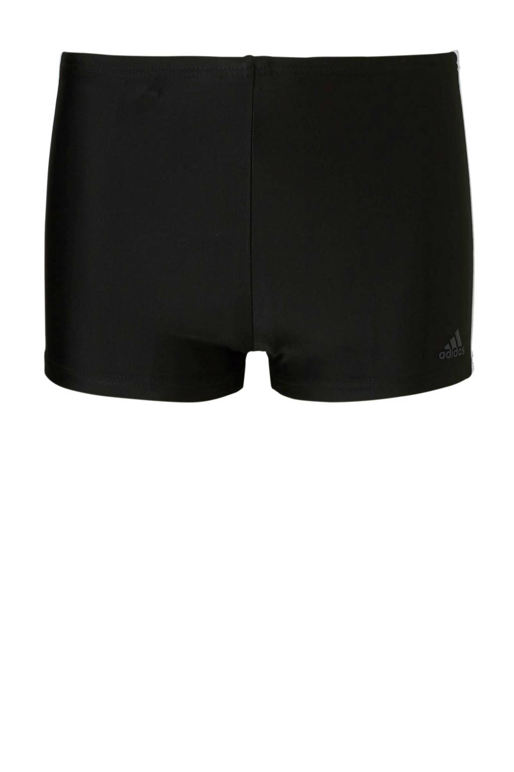 adidas infinitex zwemboxer 3-stripes zwart, Zwart