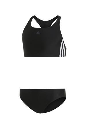 infinitex crop bikini zwart
