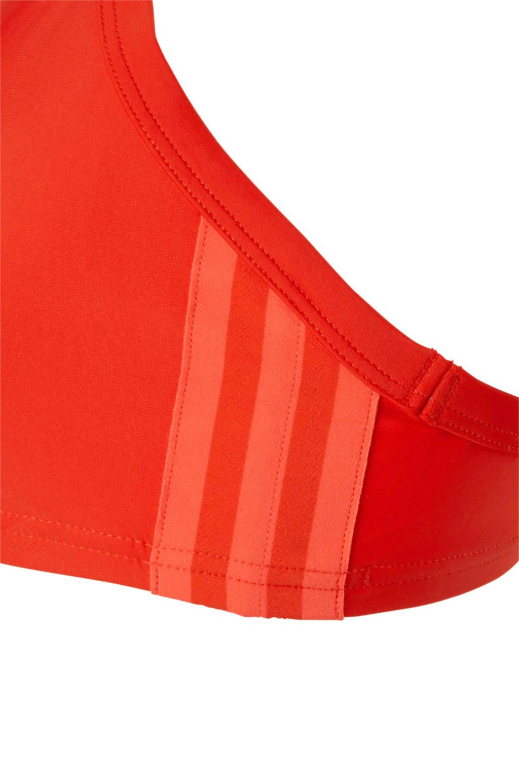 Adidassportbikini Adidassportbikini stripes 3 stripes 3 Rood qw6YwE