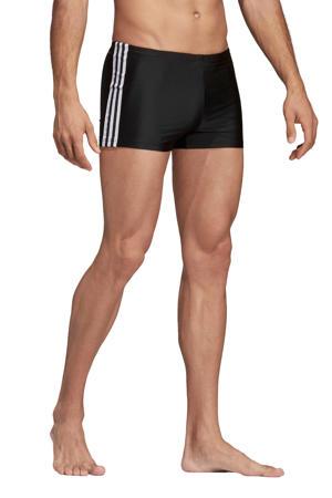 zwemboxer 3-stripes zwart