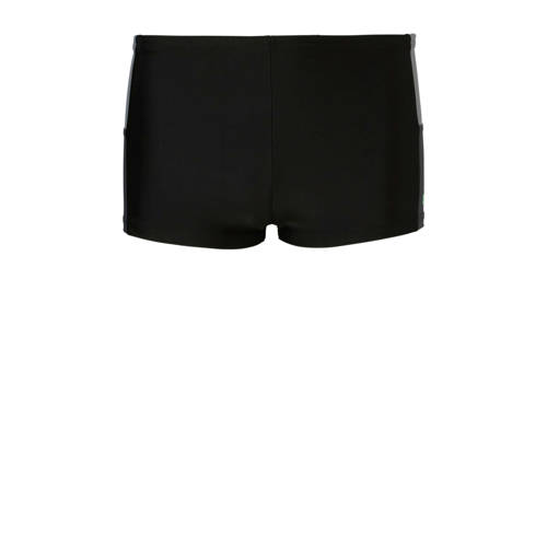 adidas infinitex zwemboxer met kleurvlakken zwart