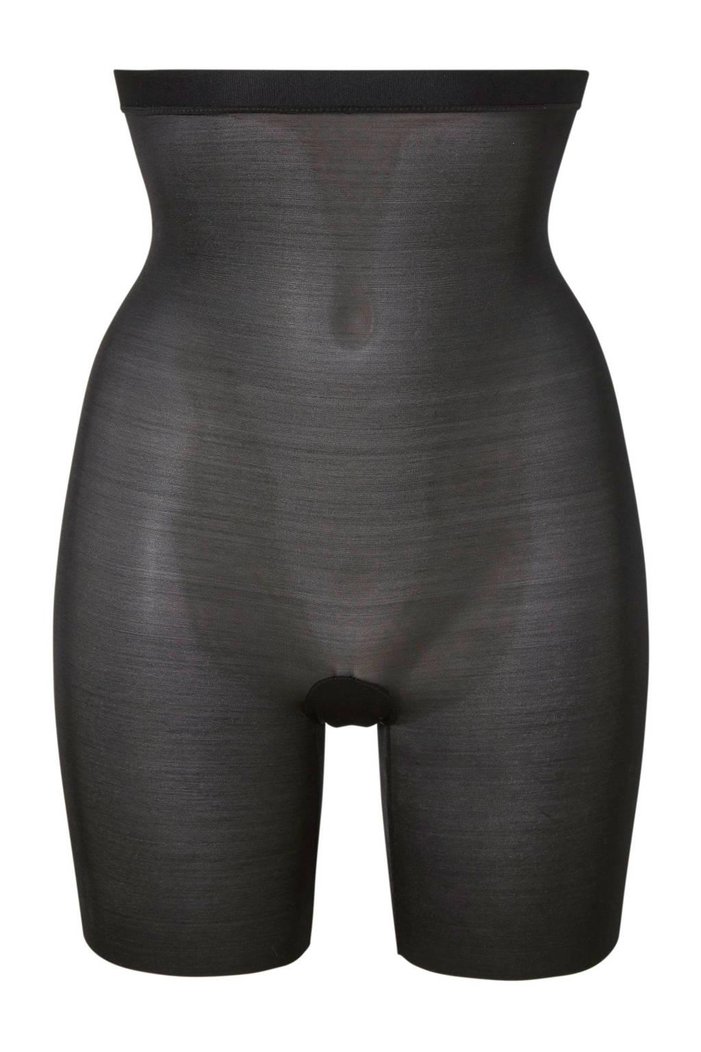 SPANX corrigerende high waist short Skinny Britches zwart, Zwart