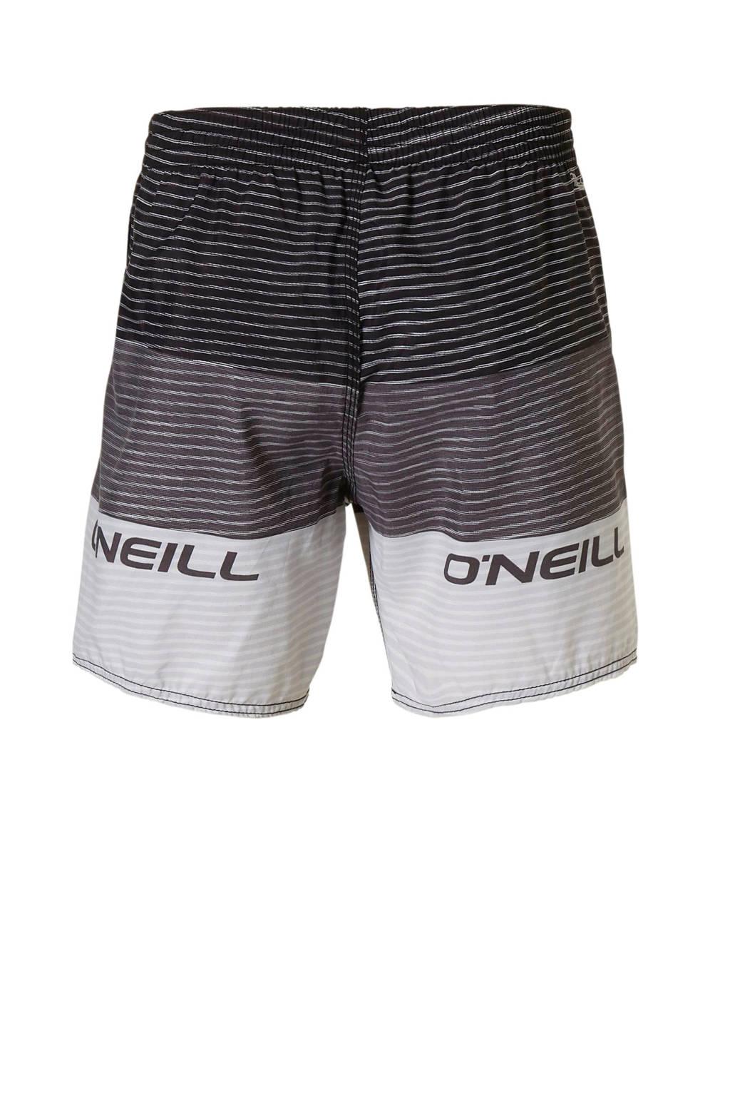 O'Neill zwemshort in een all over print grijs, Zwart/grijs