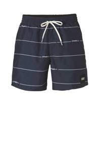 O'Neill zwemshort met strepen blauw, Blauw/wit