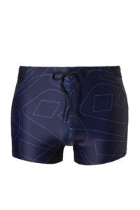 O'Neill zwemboxer in een grafische print marine, Marine/blauw