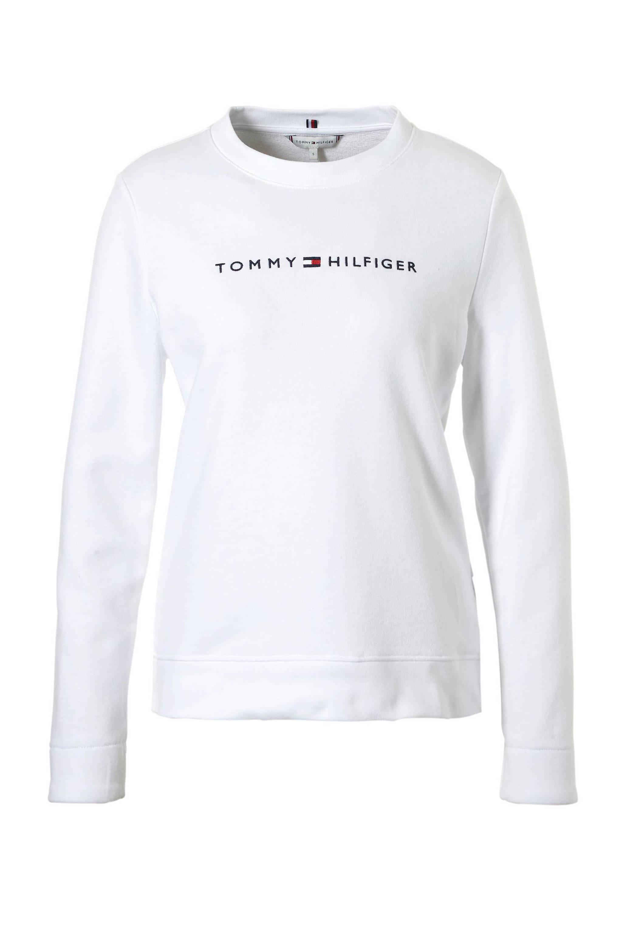 f2dd9cb2e2b Tommy Hilfiger sweater met logo | wehkamp