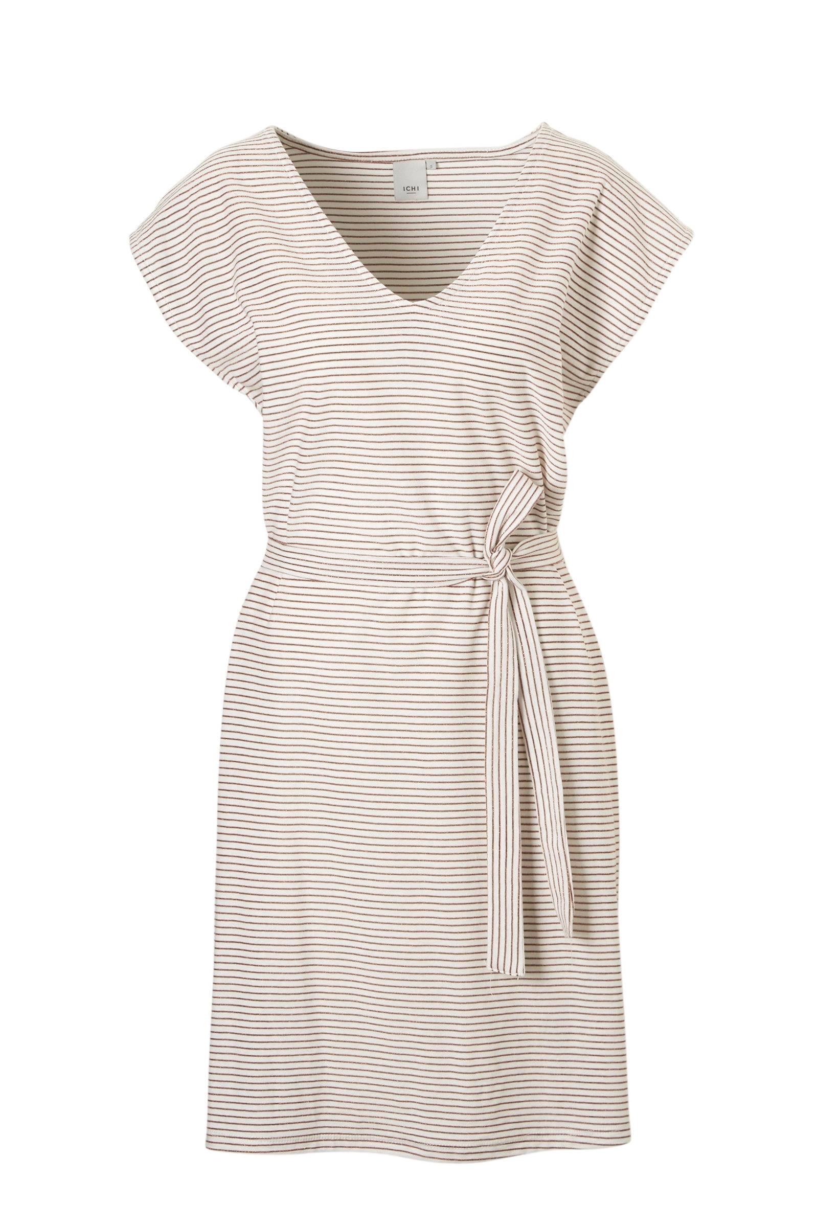 streepjes jurk blauw wit