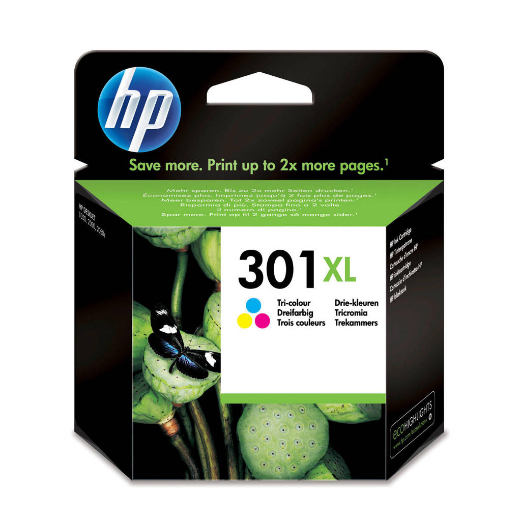 HP HP 301 XL INK CO inktcartridges (kleur), Multi