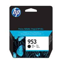 HP HP 953 INK BLACK inkcartridge zwart, -