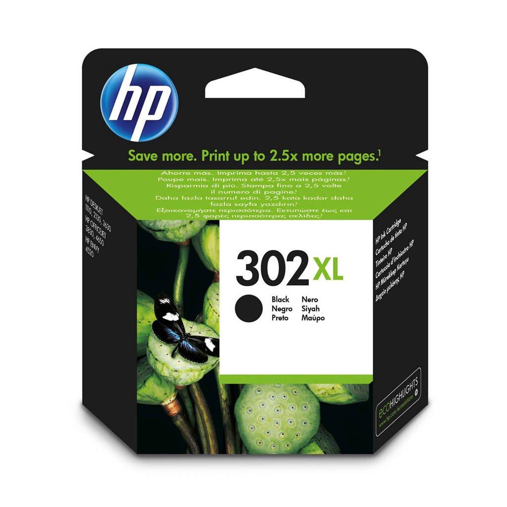 HP HP 302 XL INK BL inktcartridges (zwart), Zwart