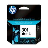 HP HP 301 INK BLACK inktcartridges (kleur), Zwart