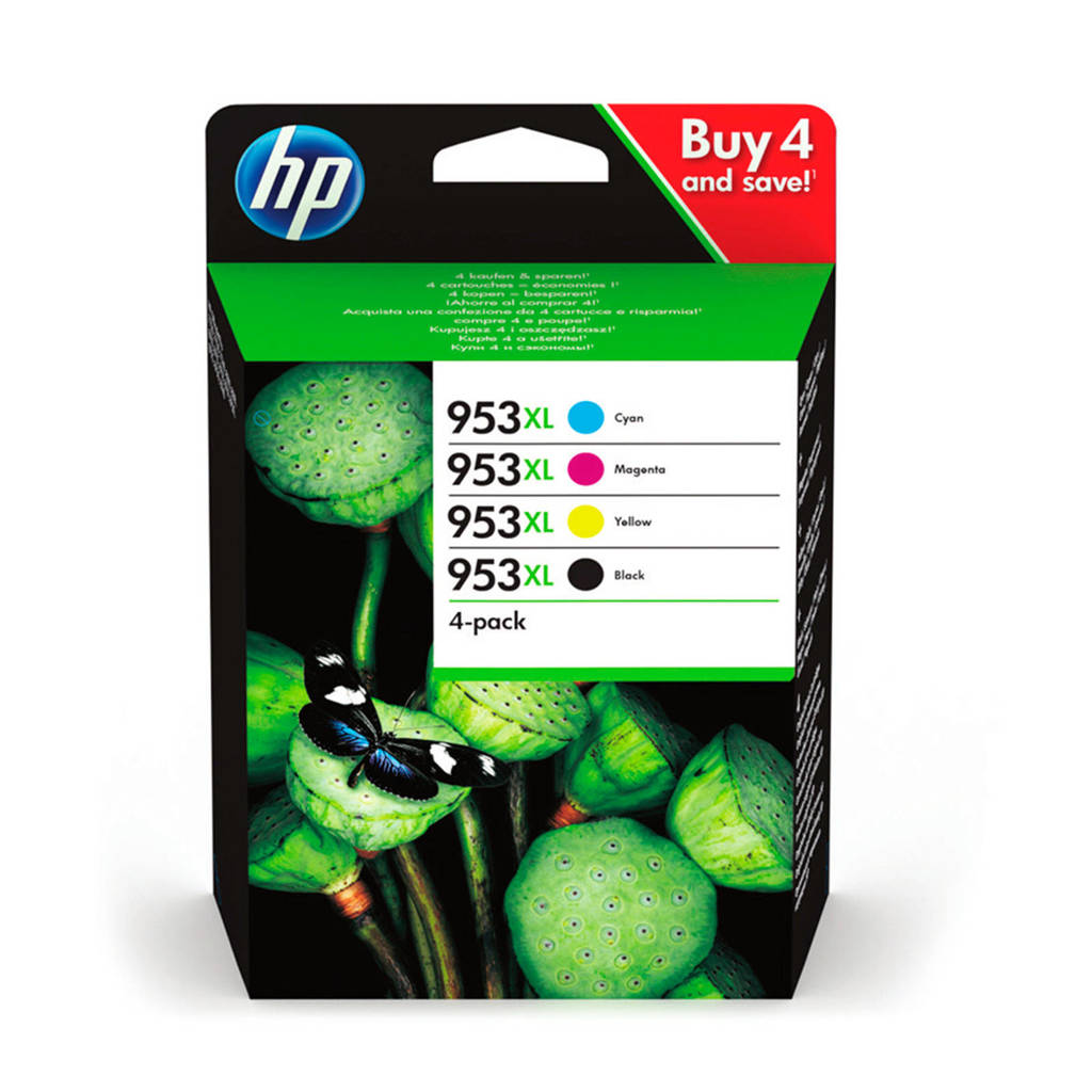 HP HP 953 XL INK MU inkcartridge multipack kleur, Multi