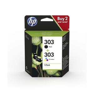HP 303 INK COMBO 2-pack inktcartridge (zwart-kleur)