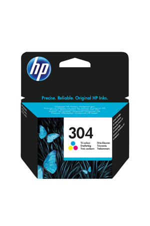 HP 304 INK COLOR inktcartridge (kleuren)