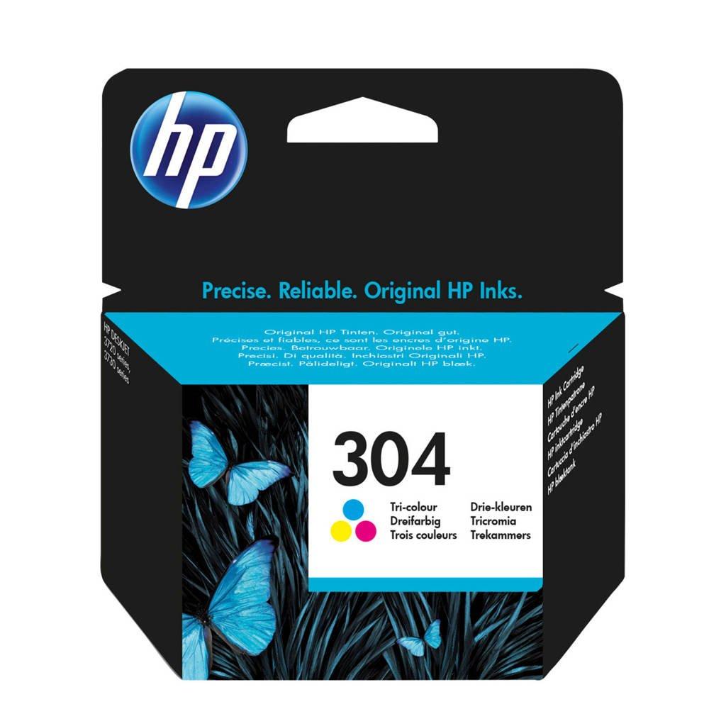 HP HP 304 INK COLOR inktcartridge (kleuren), Geel, Cyaan en Magenta