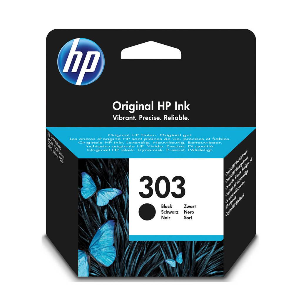 HP HP 303 INK BLACK inktcartridge (zwart), Zwart