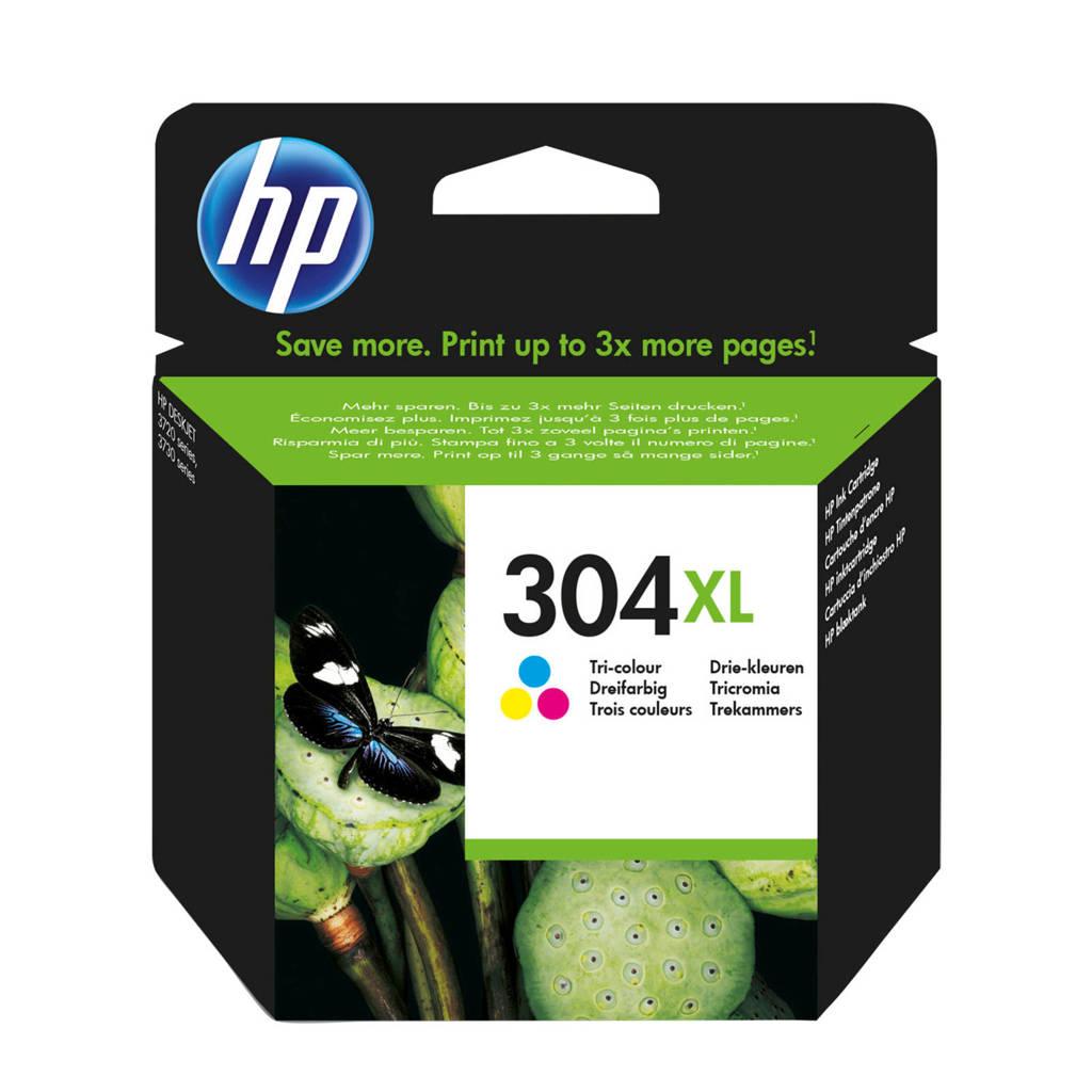 HP HP 304 XL INK CO inktcartridge (kleuren), Geel, Cyaan en Magenta