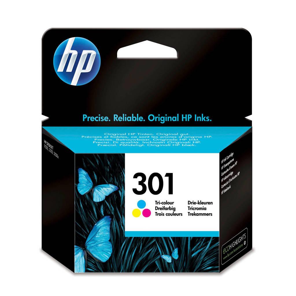 HP HP 301 INK COLOR inktcartridges (kleur), Geel, Magenta en Cyaan